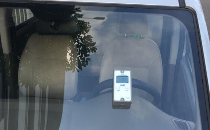分体式透光率仪LS110测试汽车挡风玻璃