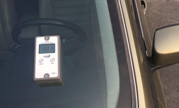 分体式透光率测试仪LS110