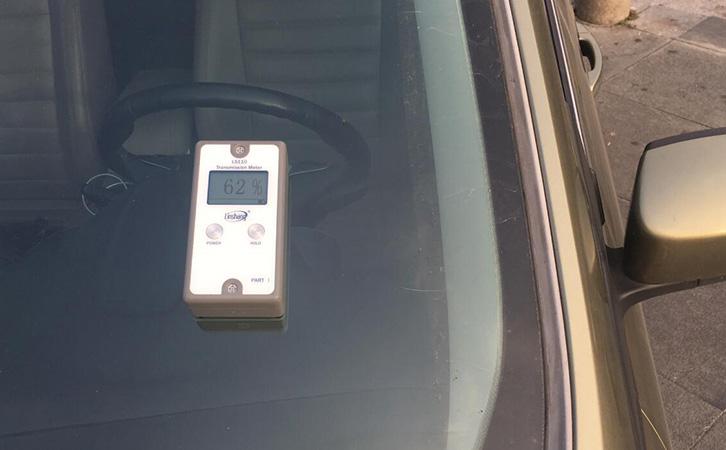 汽车专用透光率测试仪测试汽车前档