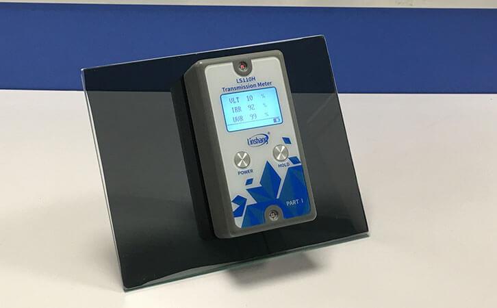 LS110H分体式太阳膜测试仪测量贴膜玻璃
