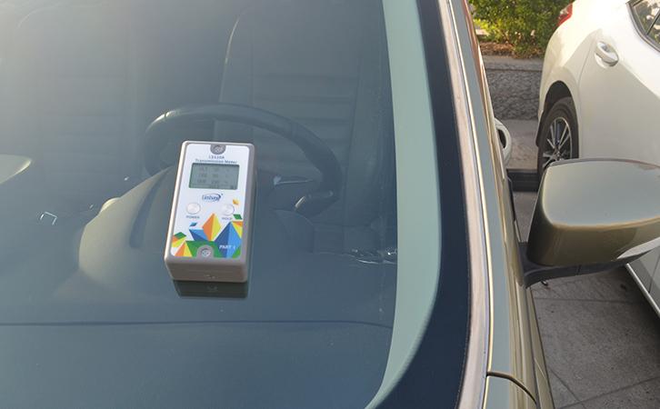 太阳膜测试仪在建筑膜行业中的应用