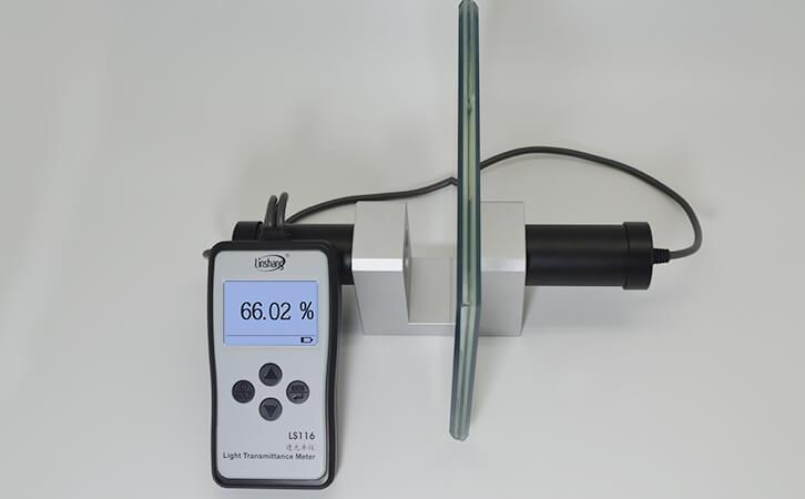 透光率测试仪测试夹层玻璃