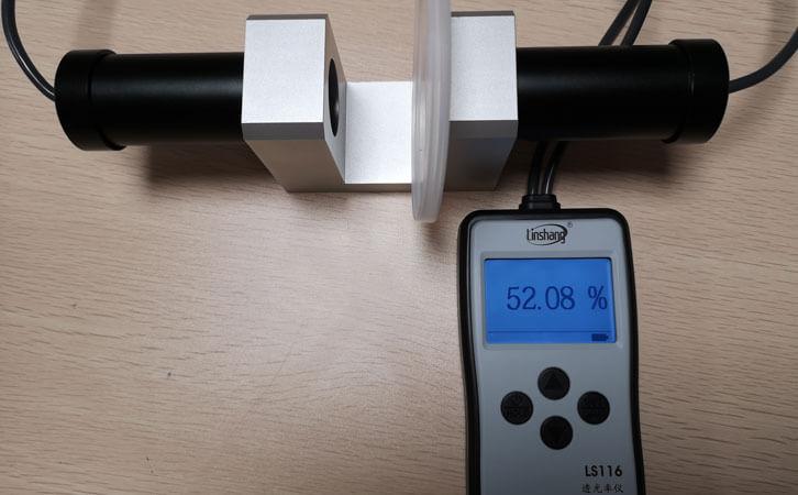 透光率仪LS116测试LDPE材料