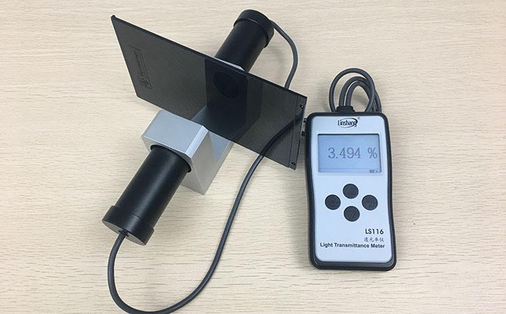 光泽度仪测量材料透光率