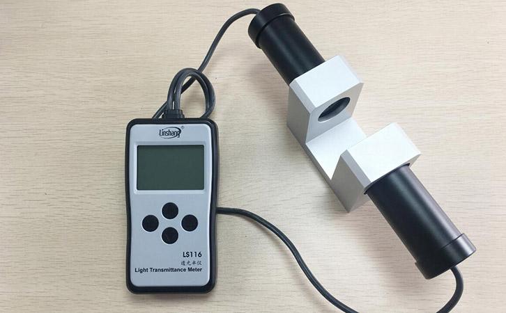 LS116透光率测试仪在头盔面罩行业测应用