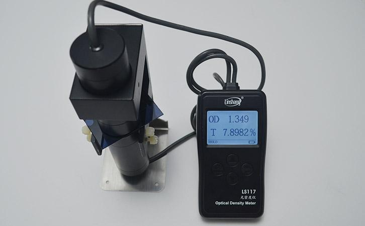 光密度计LS117实测黑菲林