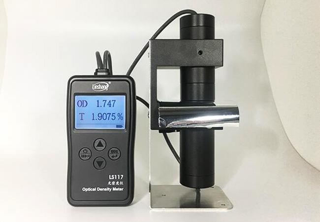 LS117光密度计检测镀铝膜