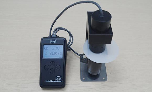 透光率测试仪117测试乳白材料