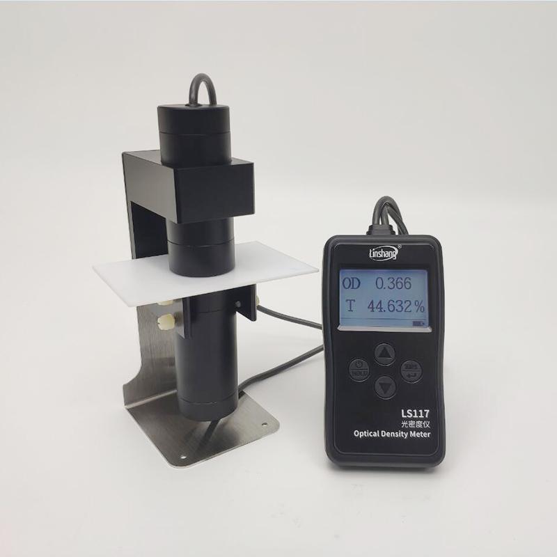 LS117光密度计测乳白材料