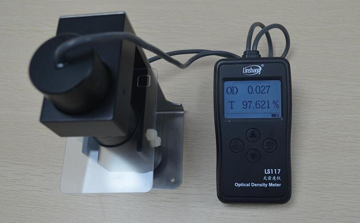 LS117透光率检测仪测试磨砂玻璃
