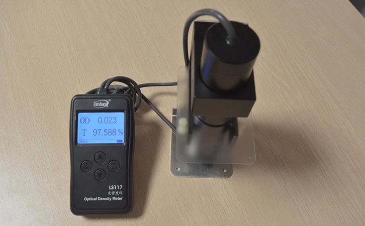 LS117便携式透光率仪测试磨砂玻璃
