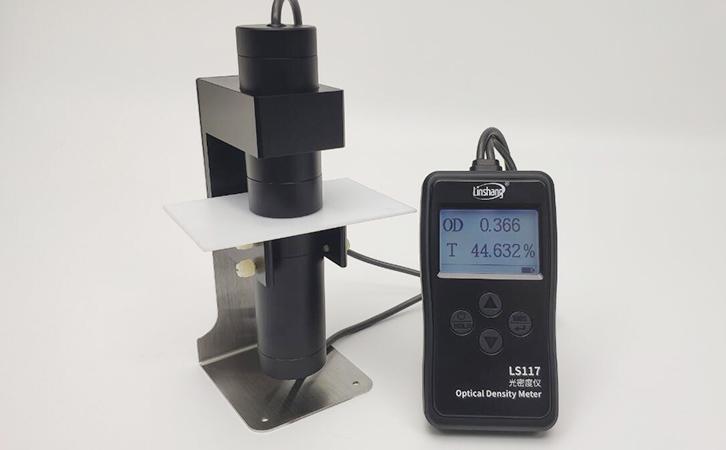 透光率仪LS117测试乳白材料
