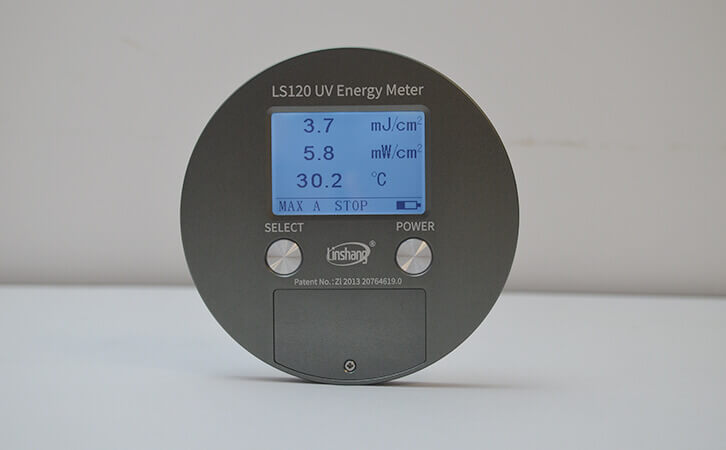 UV能量计LS120测试数据