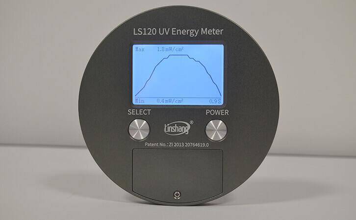 UV能量计LS120功率曲线图