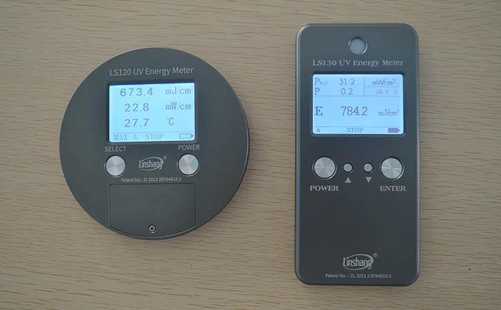 林上LS120和130UV能量计