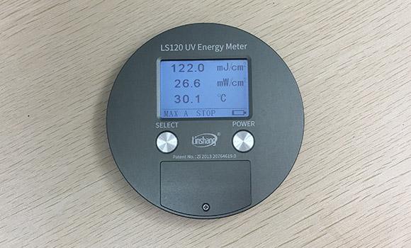 UV能量计LS120显示界面