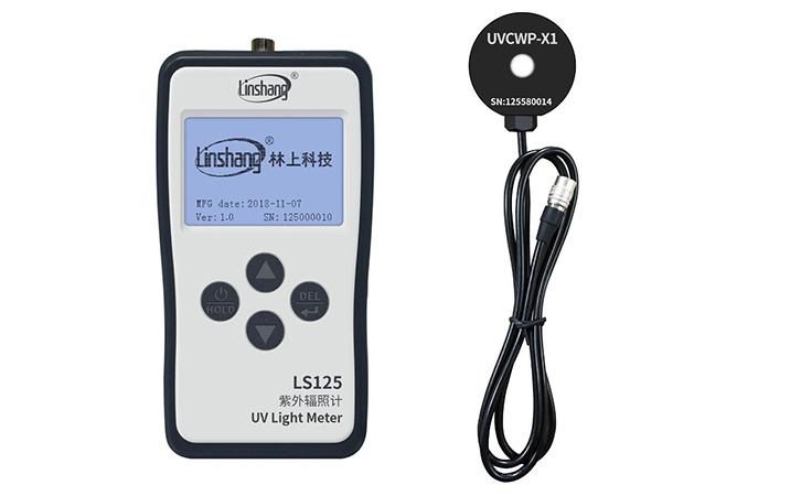 紫外线强度测试仪LS125+UVCWP-X1