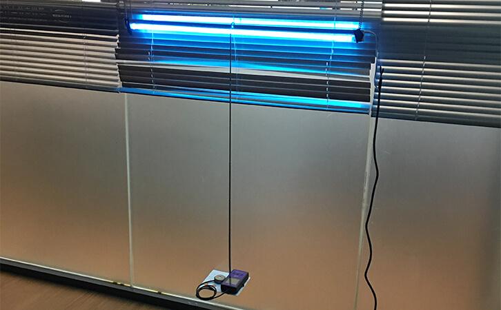 紫外线杀菌灯检测