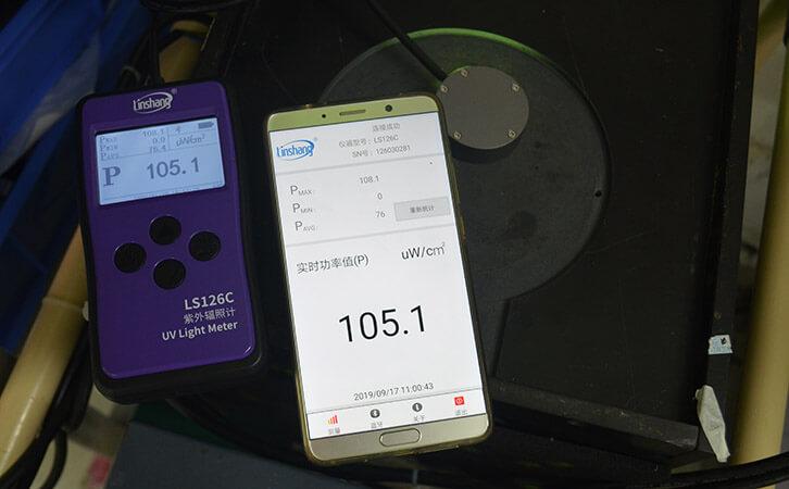 紫外线检测仪LS126C手机APP实测