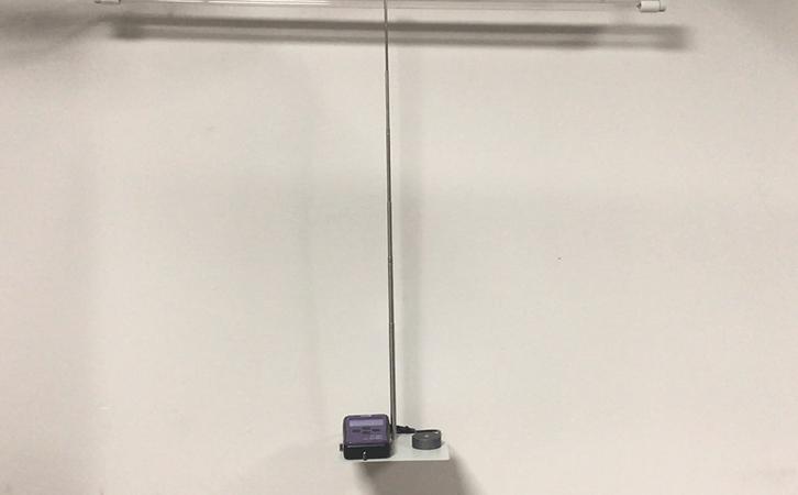紫外辐照计实测杀菌灯