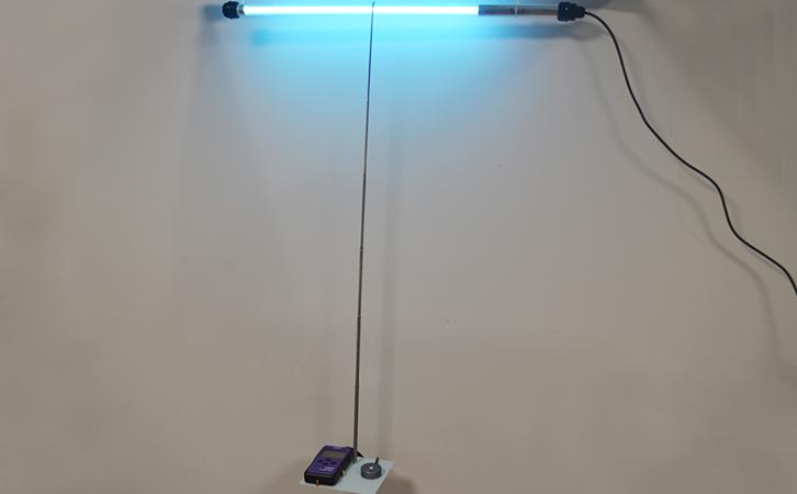 线灯管强度监测