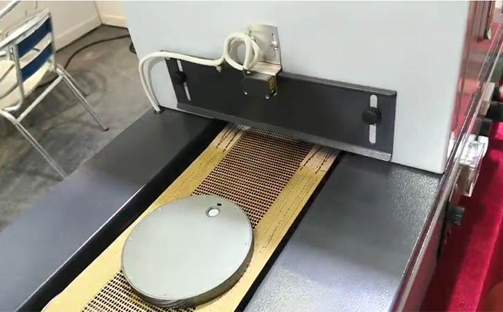 UV能量计测量固化灯