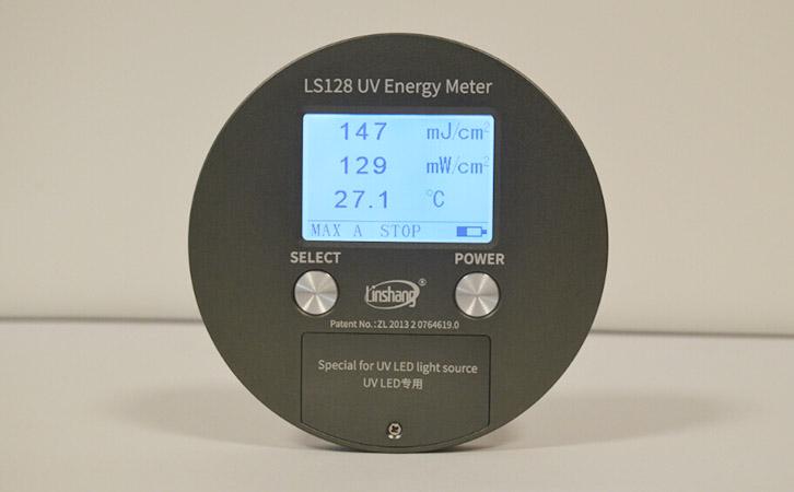UV能量计测量数据
