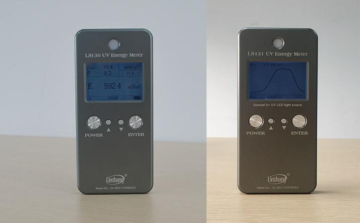 曝光机能量检测仪显示界面