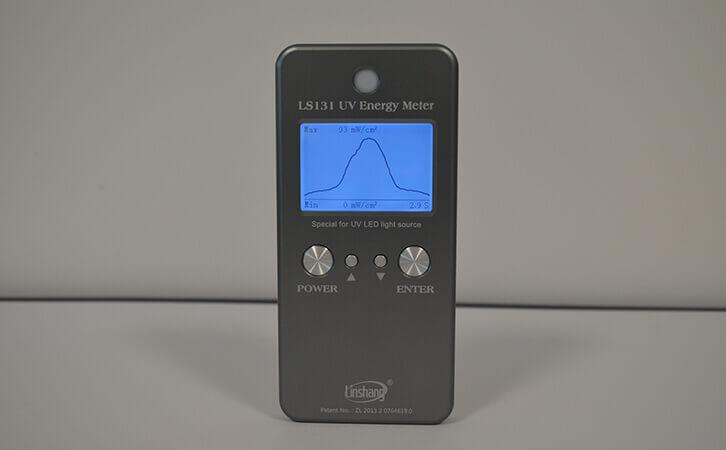 UV能量测试仪功率曲线