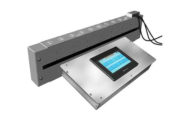 真空镀膜在线测试仪在线监测镀铝纸的均匀性