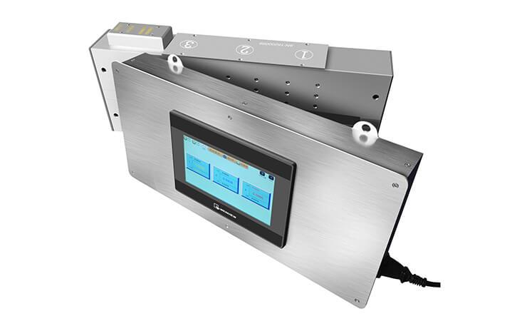 生产线上使用的真空镀膜在线测试仪