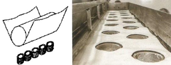 坩埚感应加热蒸发型卷绕镀膜设备的蒸发源