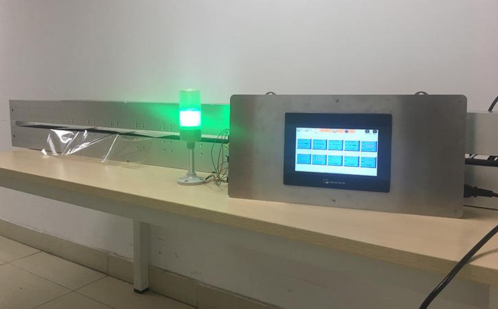 镀膜在线测厚/透过率在线检测应用