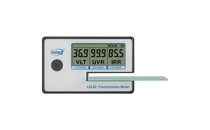 LS162便携式太阳膜测试仪数据锁定状态