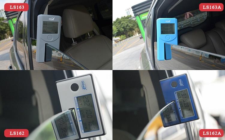 如何在四款便携式的汽车隔热膜测试仪中选择合适的型号?