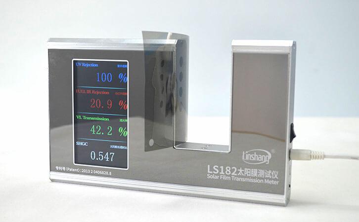 防晒保护膜透光率测试仪测试汽车膜