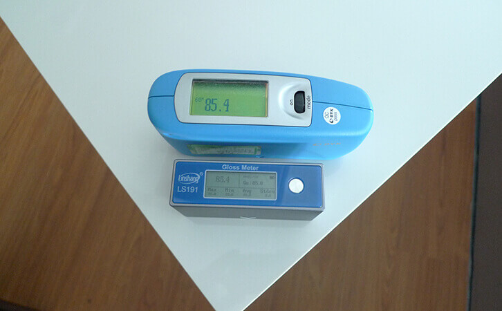 光泽度仪对比测试数据