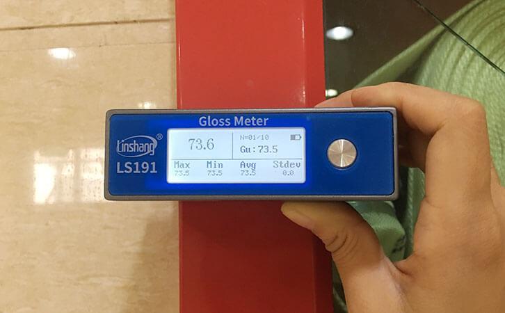喷涂件光泽度仪测量油漆