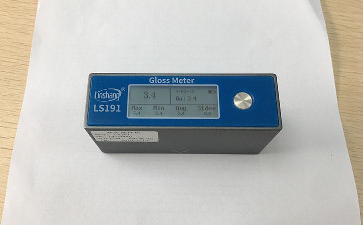 光泽度仪测量纸张光泽度
