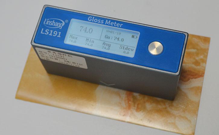 光泽度仪测量油漆光泽