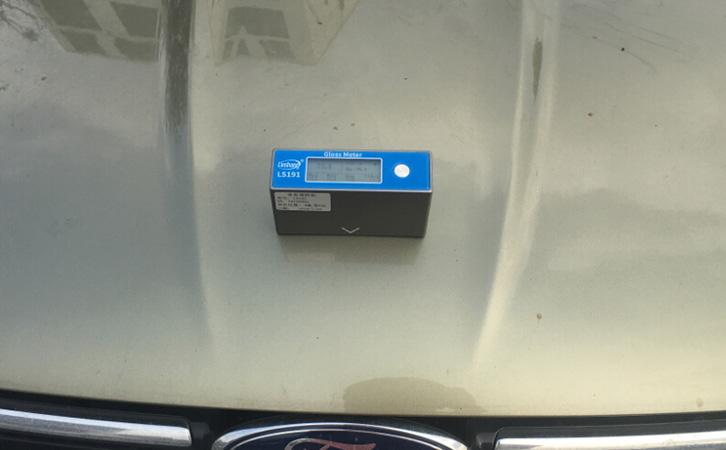 光泽度仪测量车漆光泽
