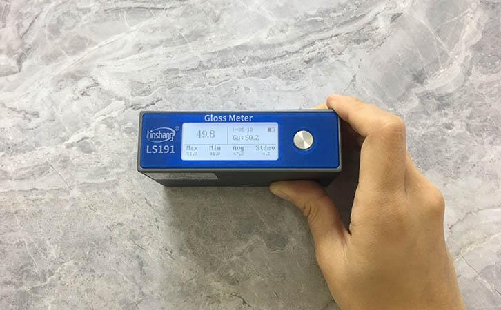 光泽度仪测量石材光泽度