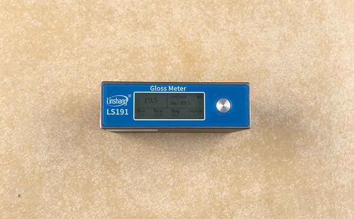 LS191光泽度计测石材