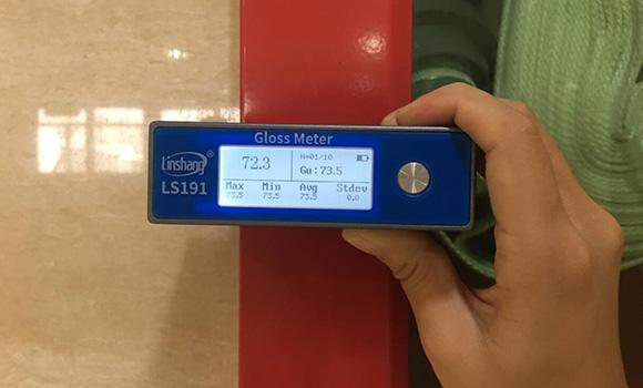 光泽度仪测量涂料
