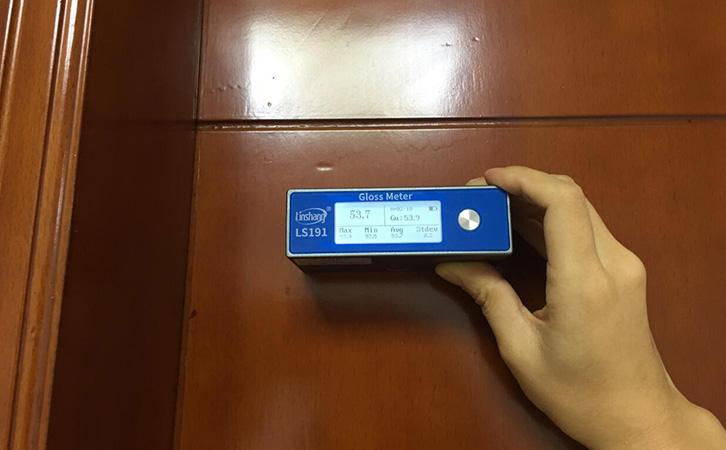 油漆光泽度检测仪LS191测试油漆材料