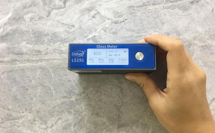 LS191数字光泽度计测试石材