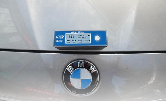 光泽度仪测量汽车