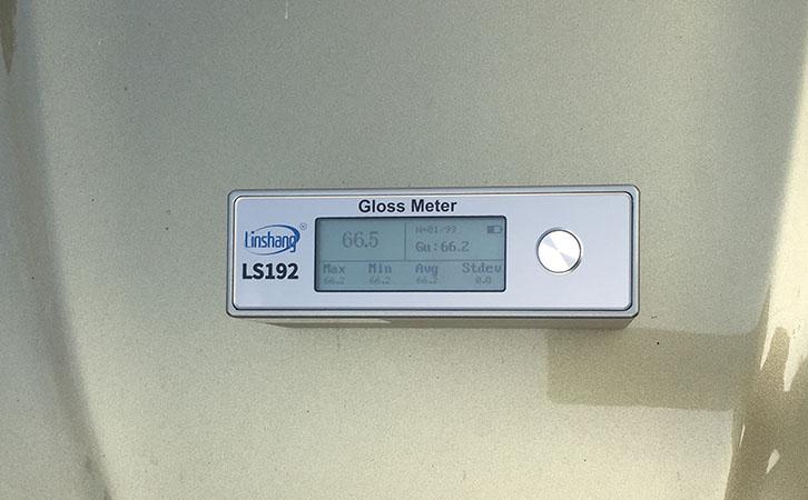 LS192测量汽车光泽度