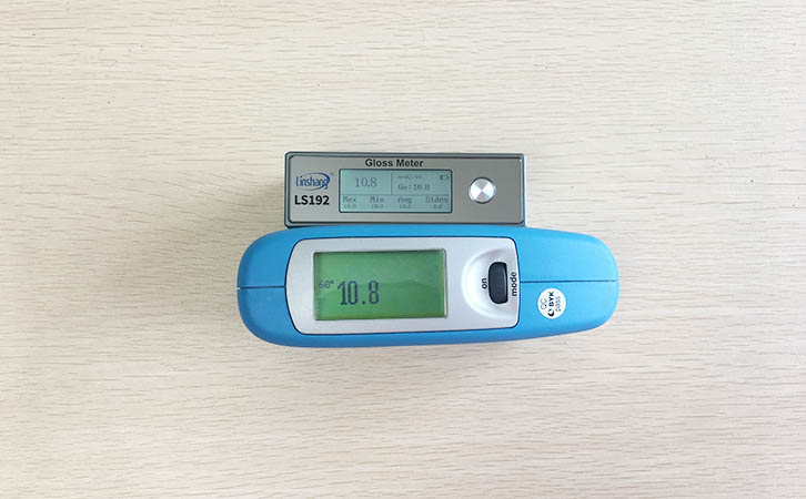 光泽度仪测量数据对比