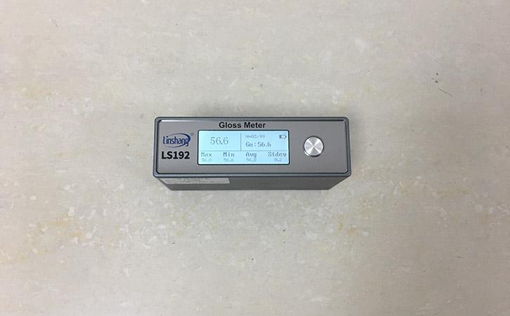 光泽度仪测量石材光泽